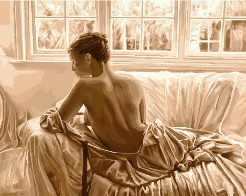 Фото Картины на холсте по номерам, Романтические картины. Люди KGX 8325