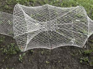 Фото Раколовки, ятеря Ятерь рыболовный 2 бочки 2,5 яч. диаметр 60см (ручная работа)