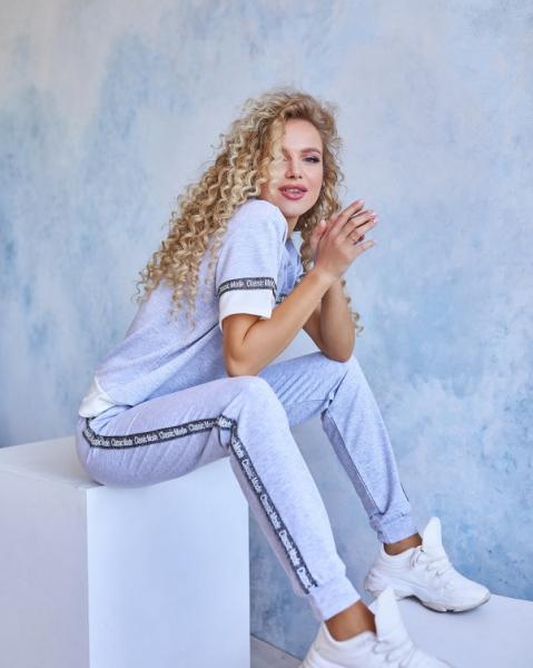 Фото  Спортивные костюмы ISSA PLUS 11960  S серый