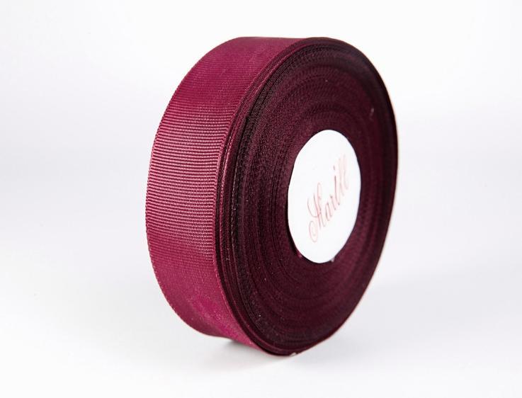 Фото Ленты, Лента репсовая  2 и 2.5 см Лента  Репсовая   2,5  см.   Бордового  цвета.