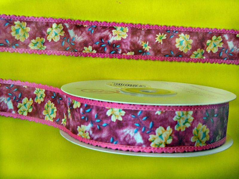 Фото Ленты,  Декоративные  тканевые  ленты . Лента  декор  тканевая  ,  ширина  2,5 см.