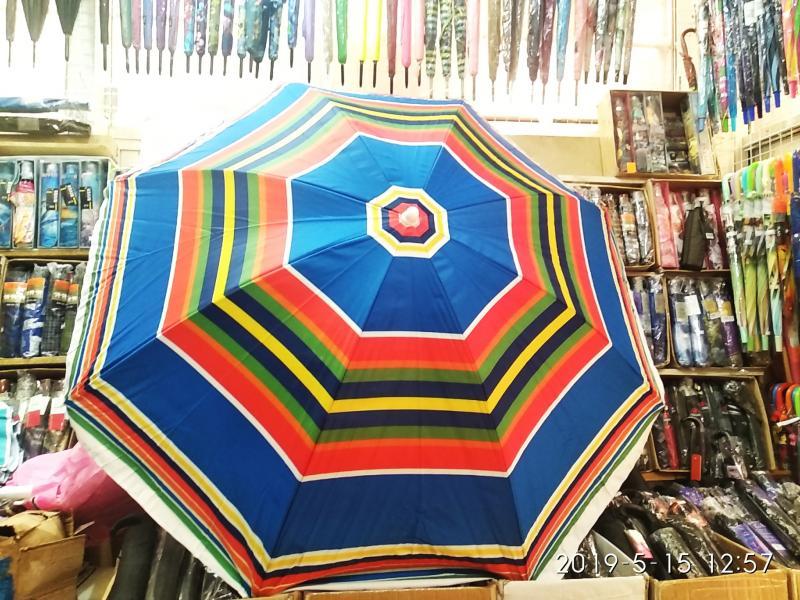 Зонт Пляжный полотно Брезент Спица Стеклопластик Амартизатор
