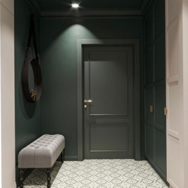 Фото Двери в интерьере Входная дверь (в интерьере) стандарт