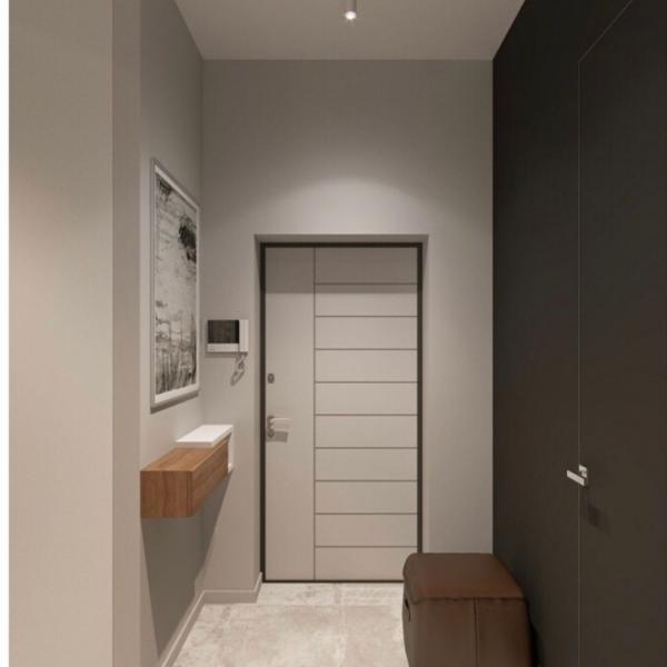 Фото Двери в интерьере Входная дверь