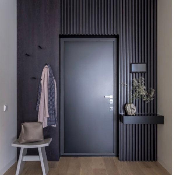 Фото Двери в интерьере Входная дверь Mirror