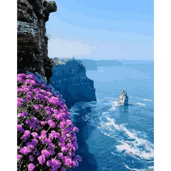Фото Картины на холсте по номерам, Морской пейзаж Q2187