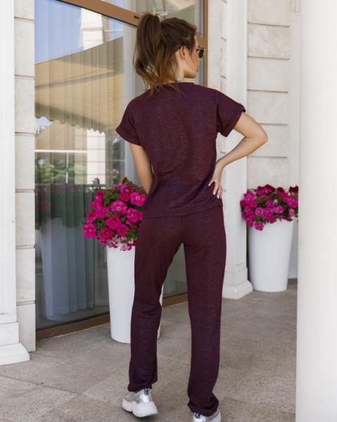 Фото  Спортивные костюмы ISSA PLUS 11940  S фиолетовый