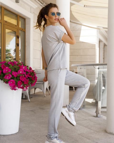 Фото  Спортивные костюмы ISSA PLUS 11940  S светло-серый