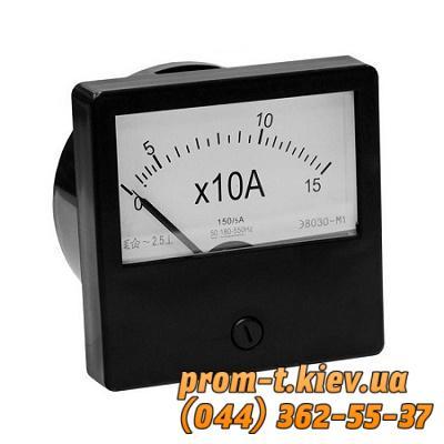 Фото Контрольно-измерительные приборы и автоматика, Клещи, тестеры, мультиметры, указатели напряжения, амперметры, вольтметры, регуляторы, сигнализаторы Амперметр Э8032, вольтметр