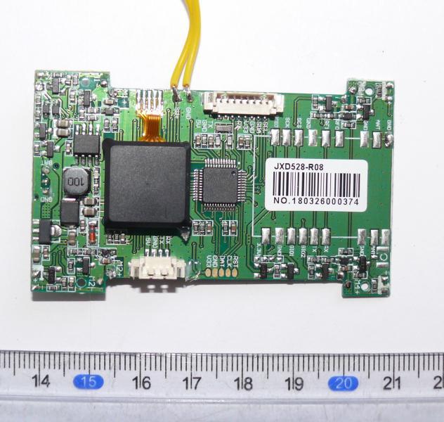 Плата управления, полетный контроллер для квадрокоптера JXD-528