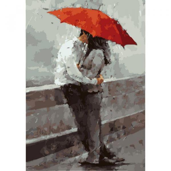 Фото Картины на холсте по номерам, Романтические картины. Люди KH 2647