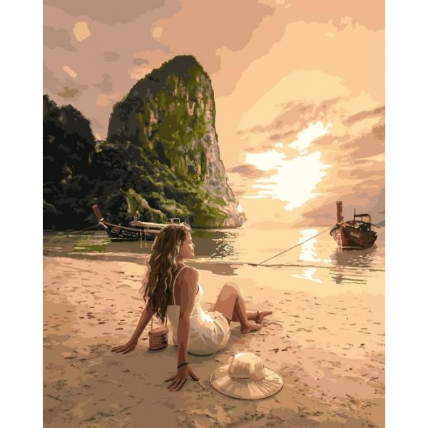 Фото Картины на холсте по номерам, Романтические картины. Люди KH 4592