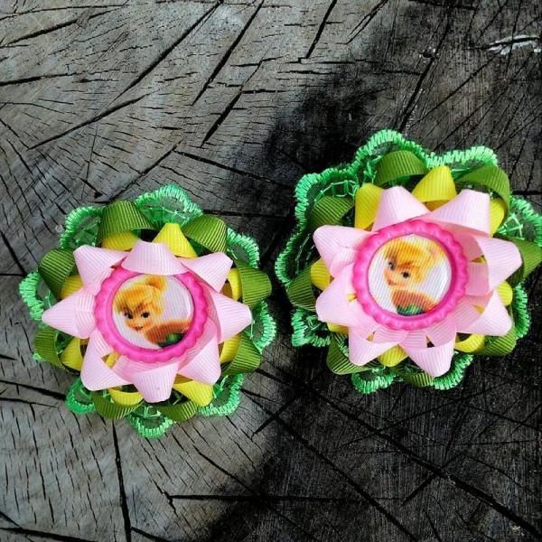 Фото Готовые изделия хенд мейд Резинки для волос Динь-Динь, цена за пару