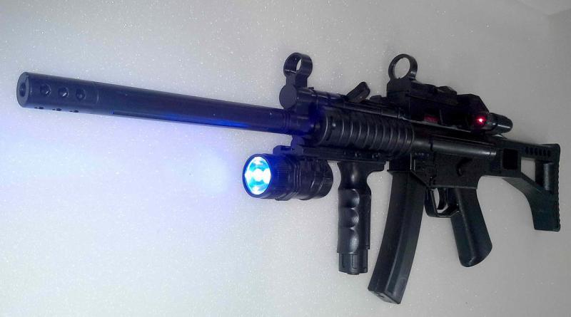 Фото Игрушечное Оружие, Стреляет пластиковыми 6мм  пульками, Автомат, пулемет, карабин Детский игрушечный карабин HY 017C