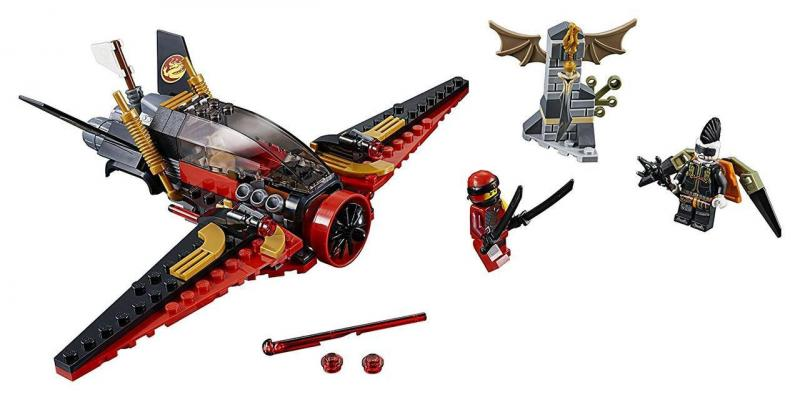 Фото Конструкторы, Конструкторы типа «Лего», Ниндзя Го (Ninja Go) 10934 Конструктор Ninja Bela (аналог Lego Ninjago 70650) Крыло судьбы, 193 дет.