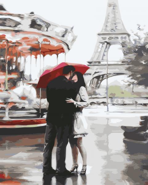 Фото Картины на холсте по номерам, Романтические картины. Люди KGX 3015