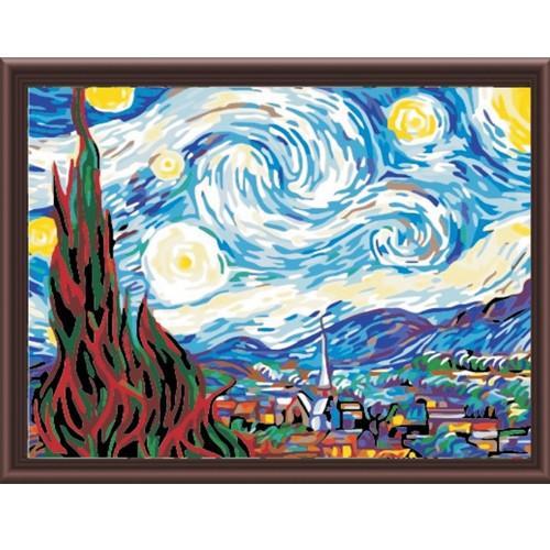 Фото Картины на холсте по номерам, Картины великих художников MS 233