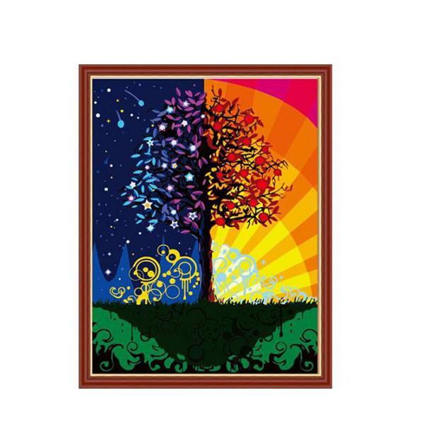 Фото Картины на холсте по номерам, Романтические картины. Люди MS 224
