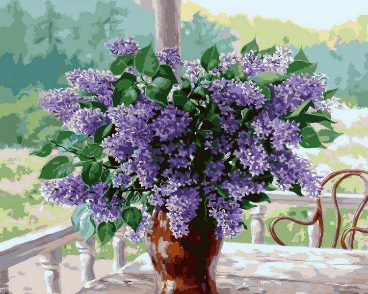Фото Картины на холсте по номерам, Букеты, Цветы, Натюрморты VP114