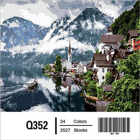 Фото Картины на холсте по номерам, Картины по номерам 50х65см QS352