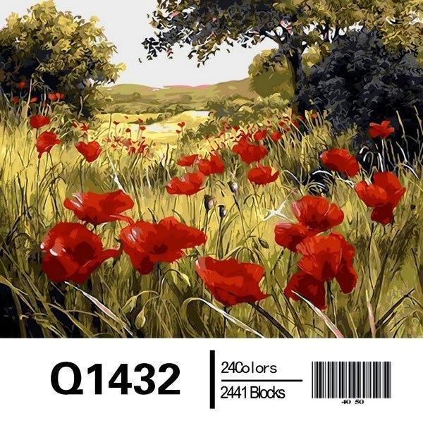 Фото Картины на холсте по номерам, Картины по номерам 50х65см QS1432
