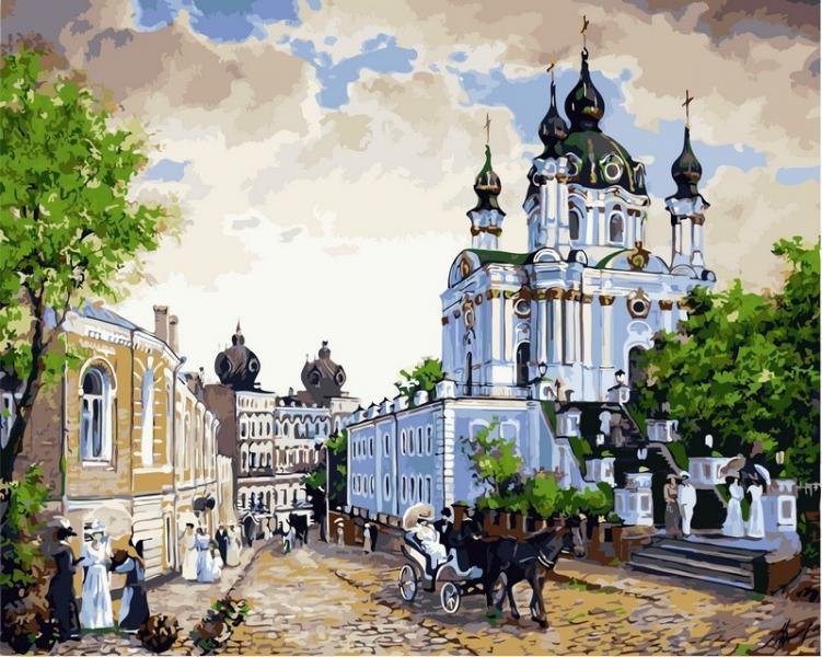 Фото Картины на холсте по номерам, Моя Україна VP 370