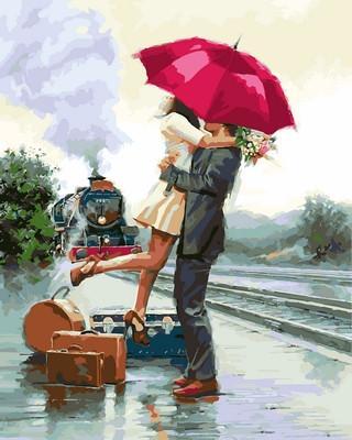 Фото Картины на холсте по номерам, Романтические картины. Люди VP773