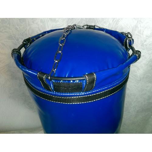 Фото Плотность боксерского мешка (груши), 680 гр/м2 Боксёрский мешок (груша) 0.25 х 0.65 цепи, кольцо
