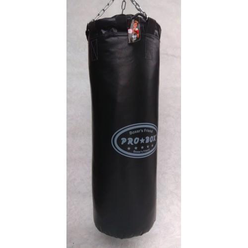 Фото Плотность боксерского мешка (груши), 700 гр/м2 Боксёрский мешок (груша) 0.35 х 1.20 Подвес: цепи, кольцо, карабин.