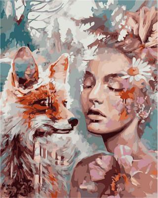 Фото Картины на холсте по номерам, Романтические картины. Люди VP 972