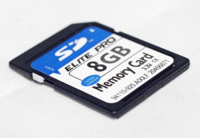 Карта памяти SD - ELITE Pro - 8 GB (10 Class)