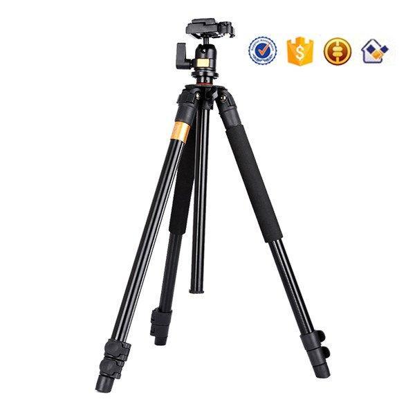 Штатив фирмы QZSD для фотоаппаратов и видеокамер - Q-308 (Q308) + головка QZSD-02