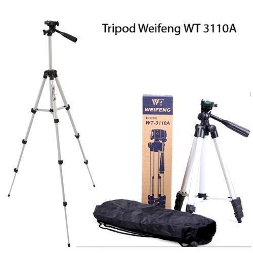 Штатив фирмы Weifeng для фотоаппаратов и видеокамер - WT-3110A + головка