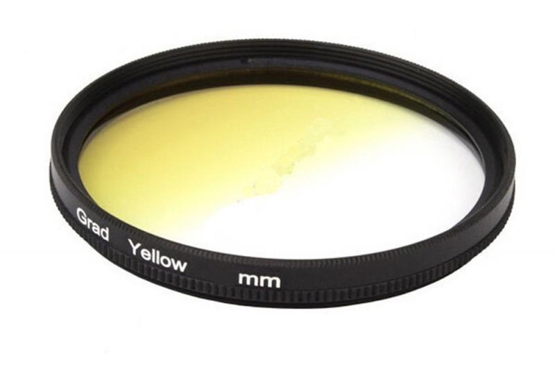 Градиентный светофильтр CITIWIDE 77 мм - желтый (yellow)