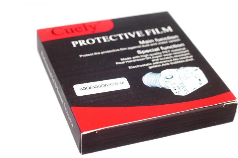 Защита LCD Cuely для CANON 60D, 600D, EOS M - НЕ ПЛЕНКА