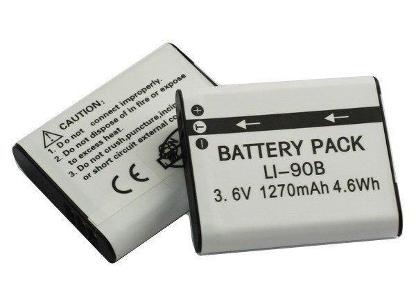 Аккумулятор для фотоаппаратов OLYMPUS - аккумулятор (Li-90B, Li90B, Li-92B) - аналог