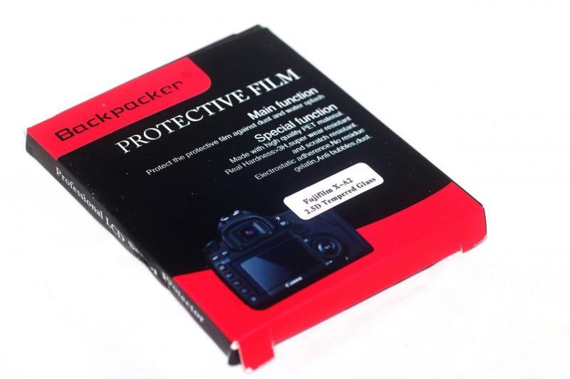 Защита LCD экрана Backpacker для Panasonic DMC-GF8 - закаленное стекло