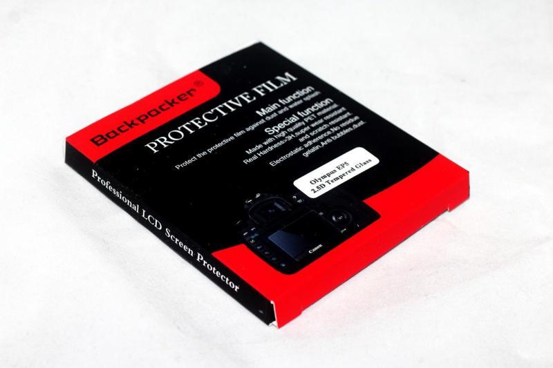 Защита LCD экрана Backpacker для Nikon 1 V3 - закаленное стекло