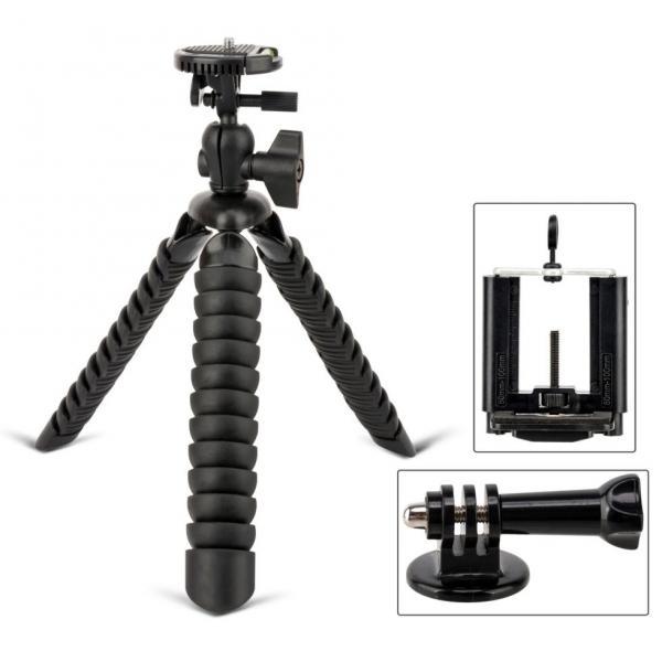Гибкий штатив Zomei - ITT 750 (высотой 30 см и максимальной нагрузкой до 3 кг) - черный