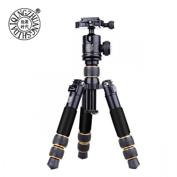 Штатив фирмы QZSD для фотоаппаратов и видеокамер - Q-166A (Q166A) + головка QZSD-06