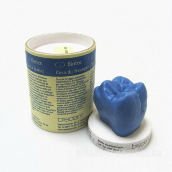 Фото Для зуботехнических лабораторий, МАТЕРИАЛЫ, Воска Воск Biotec для фрезерования, синий