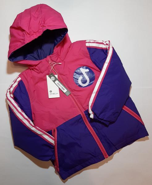 Детская демисезонная куртка на девочку BEIBEI (120 - 160)