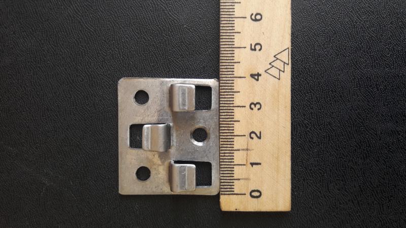 Фото Комплектующие для террасной доски Кляймер,клипса для ДПК