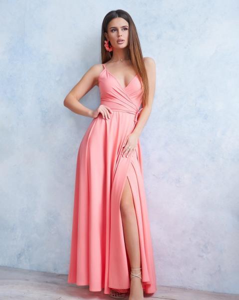 Фото  Платья ISSA PLUS 11745  XL розовый