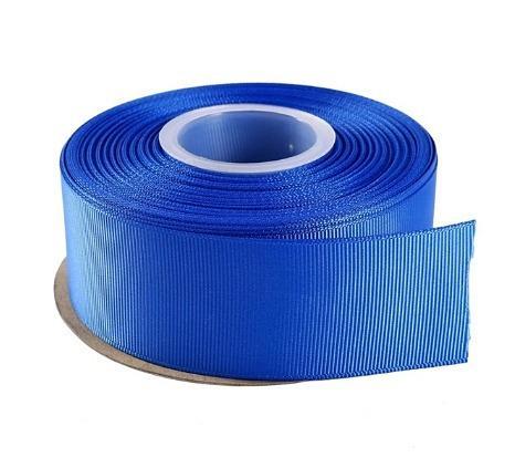 Фото Ленты, Лента репсовая 4 см Лента  репсовая  4 см ,  цвет  Синий .  ( электрик  040 )