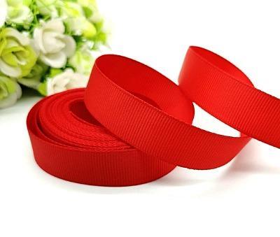 Фото Ленты, Лента репсовая  2 и 2.5 см Репсовая лента  2,5 см , цвет красный