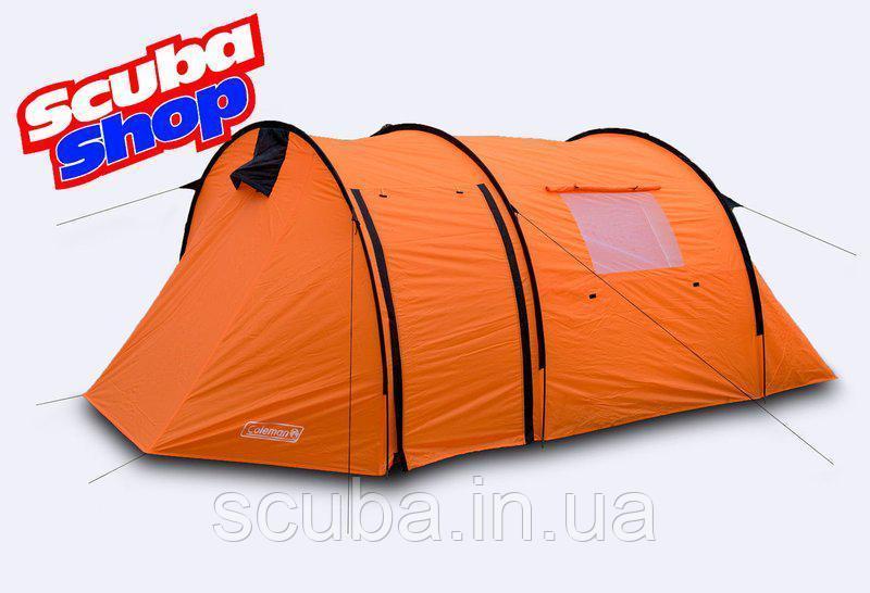 Палатка трехместная Coleman 1908, двухслойная (размеры 410х200х160 см)
