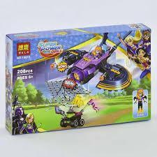 Фото Конструкторы, Конструкторы типа «Лего», Конструкторы для девочек (эльфы, friends, paradise) 10615 Конструктор для девочек Супер герои Batgirl 208 дет.