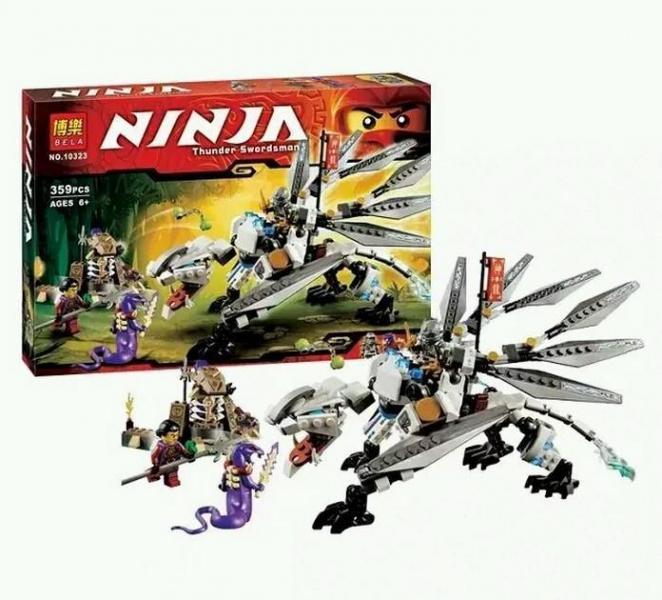 Фото Конструкторы, Конструкторы типа «Лего», Ниндзя Го (Ninja Go) 10323 Bela  (аналог Lego Ninjago 70748)