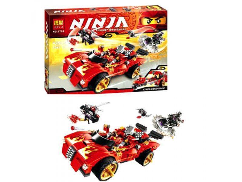 Фото Конструкторы, Конструкторы типа «Лего», Ниндзя Го (Ninja Go) 9796 Конструктор Bela Ninja (аналог Lego Ninjago)